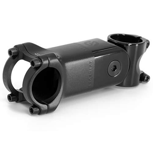 REDSHIFT – ShockStop PRO Attacco Manubrio Ammortizzato per Bici da Corsa, Attacco Antivibrazioni per MTB, Gravel, E-Bike e Ibride, 6 Gradi x 80 mm
