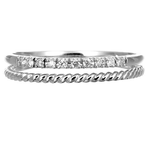 [ココカル]cococaru シルバー リング ダイヤ リング ダイヤモンド リング 指輪 レディース sv925 ギフト 贈り物 記念日 プレゼント 日本製(14)