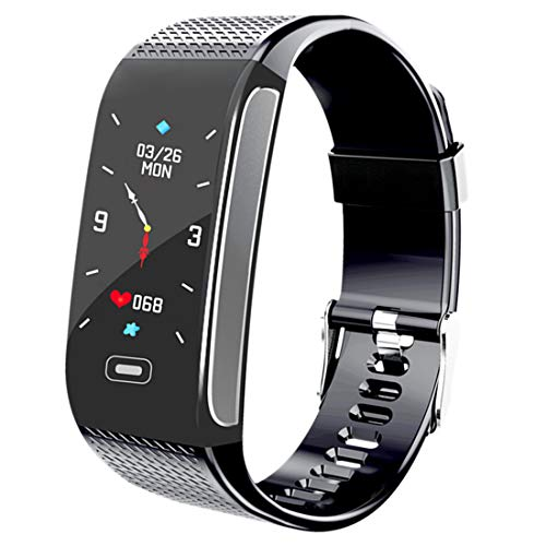 Fitness Tracker, Activity Tracking Smart Bracelet with Heart Rate Sleep Monitor Pedometer Stopwatch Steps Calories Counter Waterproof Call SMS SNS Remind for Men Women Compatible with Android IPhone