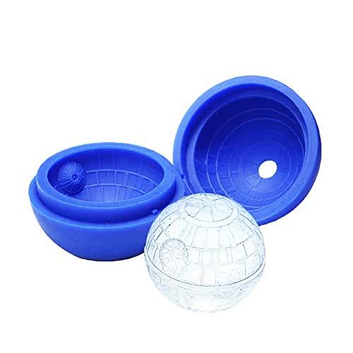 STARAYS Ice Hockey Mold, BPA-vrije zachte siliconen bal vorm gemakkelijk te verwijderen ijslade voor Whisky, Cocktails en niet-alcoholische koude dranken