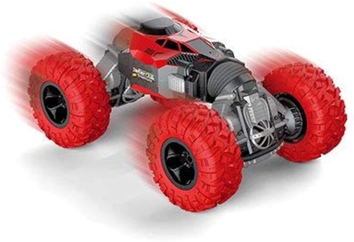 Generic 1 16 DoubleSided Twisted RC Cars Remote Control Electric Crawl Off Road Truck Toys for Gifts Red