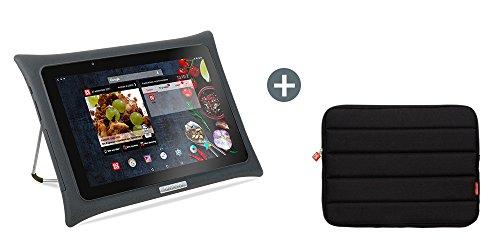 QOOQ - Tablette Culinaire Ultimate V5 + Housse de Transport - Tablette Android de Cuisine Écran 10...
