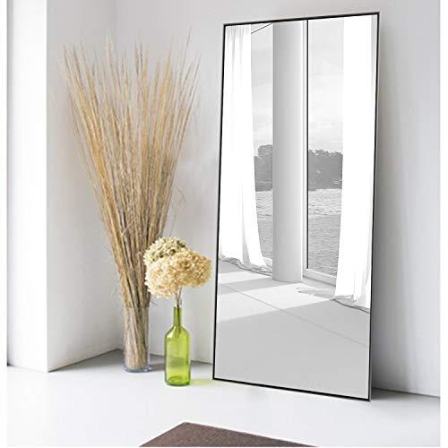 MIRUO Full Length Mirror Decor Wall Mounted Mirror Floor...