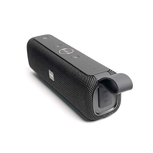 Smpl Enceinte Bluetooth sans fil - Son stéréo supérieur et microphone intégré, 12W, étanche à l'eau IPX6, étanche à la poussière, anti-chocs, autonomie de 12h, portée Bluetooth de 10m - Noir