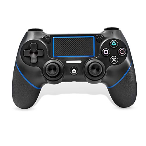 PS4 Wireless Controller, C200 Gamepad DualShock 4 Konsole für Playstation 4 Touch Panel Joypad mit Dual Vibration Game Remote Control Joystick