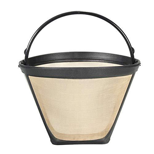 Reusable #4 Cone Coffee Filters for Ninja/Cuisinart/Hamilton Beach Coffee Bar