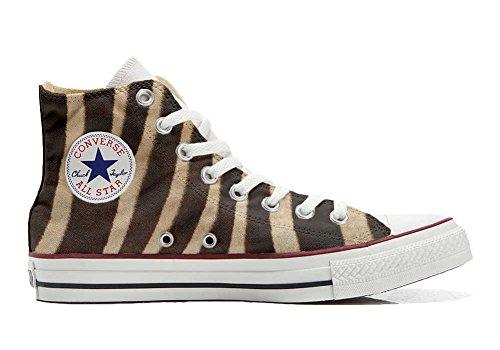 Sneakers Original USA Zapatos Personalizados Unisex (Producto Artesano) Cebra - TG32