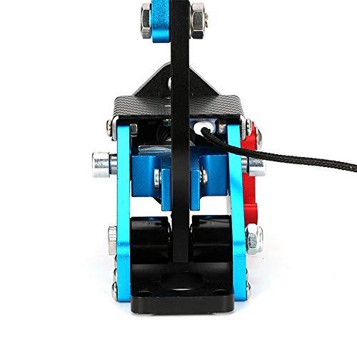 Frein à Main pour PC, 14Bits Universal Sim Frein à Main USB Compatible avec Le système Windows, dérive réglable en Hauteur, Installation Facile pour G27 G25 G29 T500 T300 Fanatecosw LFS Dirt Rally