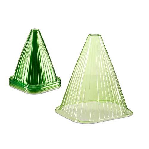 Relaxdays -  , grün Pflanzenhut