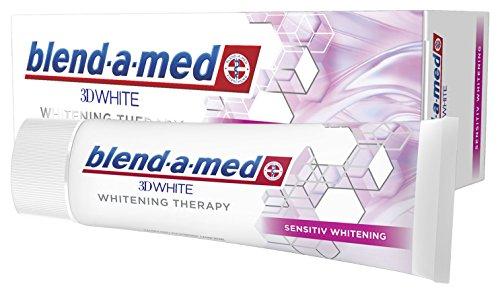 Blend-a-med 3D-White Whitening Therapy Zahnpasta (Sensitiv Whitening) 1er Pack (1 x 75 ml)