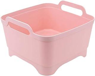 Warmwin en Plastique Portable lavabo vidange Panier de Rangement pour Cuisine Sac de Rangement lavabo légumes et Fruits év...