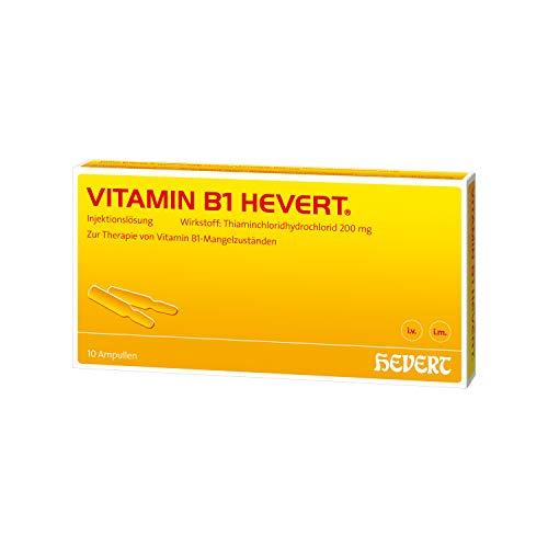 Vitamin B1 Hevert Ampullen, 10 St. Ampullen