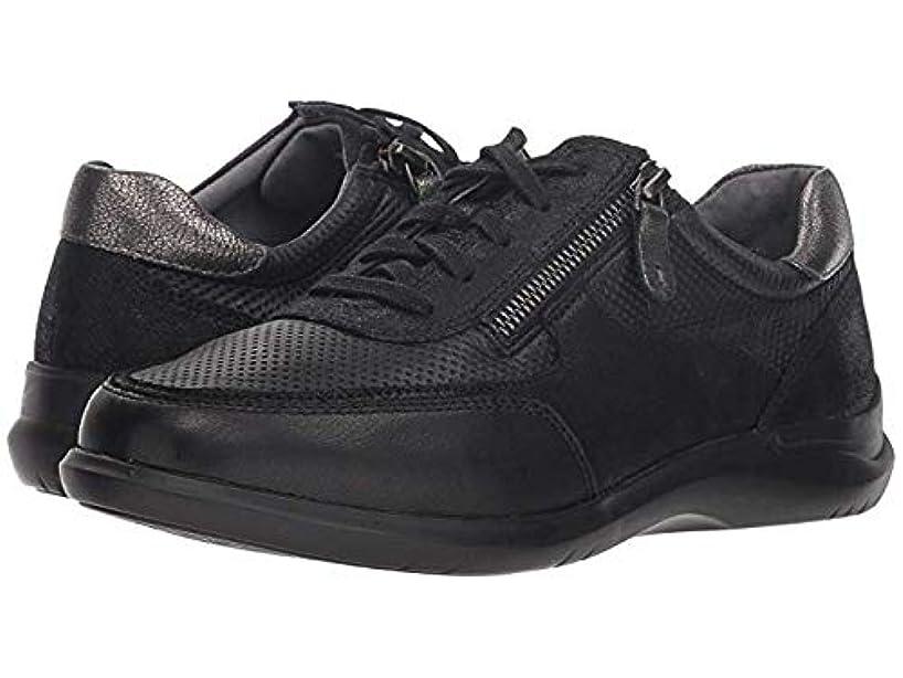[ニューバランス] [ARAVON(アラヴォン)] レディーススニーカー?靴?シューズ Power Comfort Tie w/Side Zip Black US 11 (28.5cm) W (D) [並行輸入品]