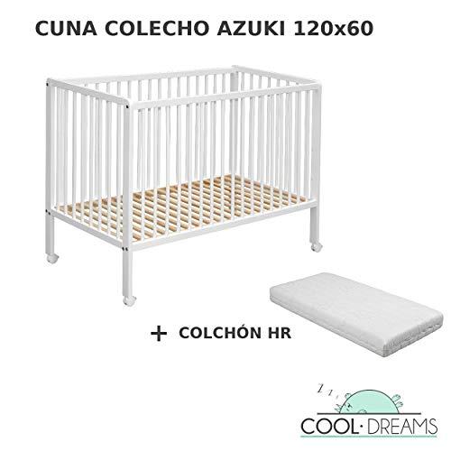 Cuna colecho Azuki 10 alturas colecho + kit colecho + Colchón HR