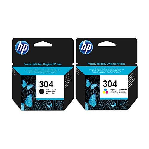 Cartuccia di inchiostro HP, colore: nero e 3 colori, per stampanti HP Deskjet 3720, cartuccia di inchiostro originale