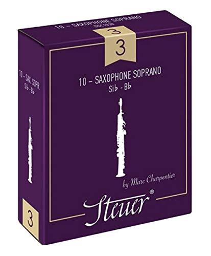 Besturingsblad sopraan saxofoon traditioneel pak van 10 maat 4.