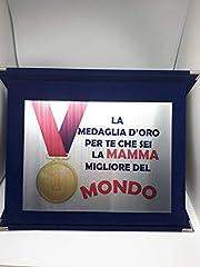 Idea Regalo - Targa Di Riconoscimento Idea Regalo Festa della Mamma