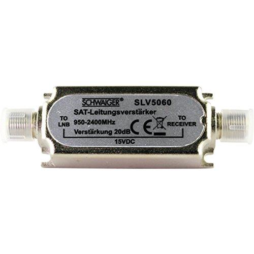 Schwaiger SAT-Leistungsverstärker 16 dB