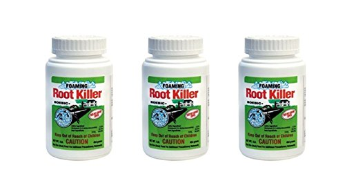 Roebic FRK Foaming Root Killer, 1-Pound Pack of 3