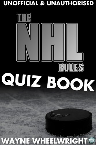 The NHL Rules Quiz Book (Sports Trivia 11) (English Edition)