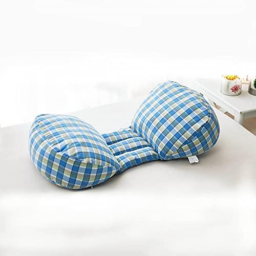 SUMBITOD Almohada de Embarazo para Dormir, Cojín en Forma de U Almohada Cama Almohada de Apoyo en Forma de cuña Almohada de Lactancia Almohada para Dormir Lateral en la Cintura Extraíble y Lavable