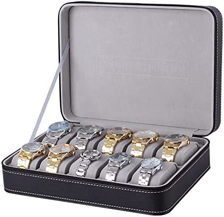 Surprise price XXSW Case 2 National products 4 8 10 Slot Box Watch E PU Leather Dislpay