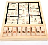 【 Alnair 】 数独 数独パズルボードゲーム 小学生 卓上ゲーム アルゴリズム SUDOKUパズル ナンプレ 脳トレ IQ数字 推理ゲーム 脳力開発 子供教育おもちゃ 数字 パズルゲーム IQ鍛える 大人も楽しめる (原色)
