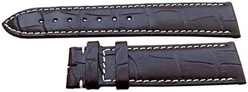 Cinturino per orologio Longines autentico 20mm Alligatore marrone