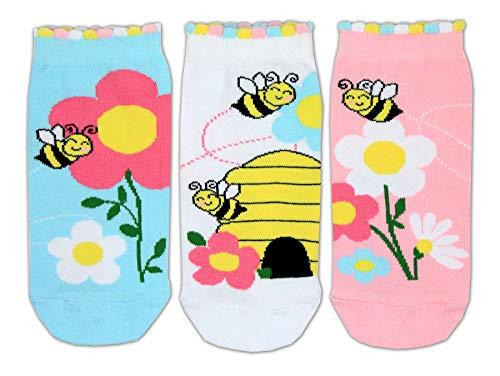 Bienen Füßlinge Oddsocks Socken in 30,5-38,5 im 3er Set - Strumpf