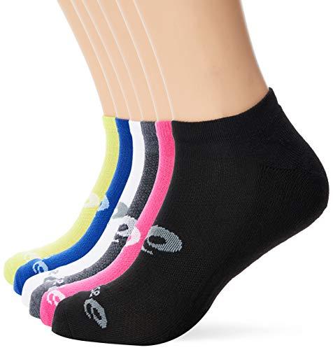 ASICS Socken Invisible Sportsocken 6er Pack - Mehrfarbig, Grau, mehrfarbig, 43 - 46, 135523V2-0965