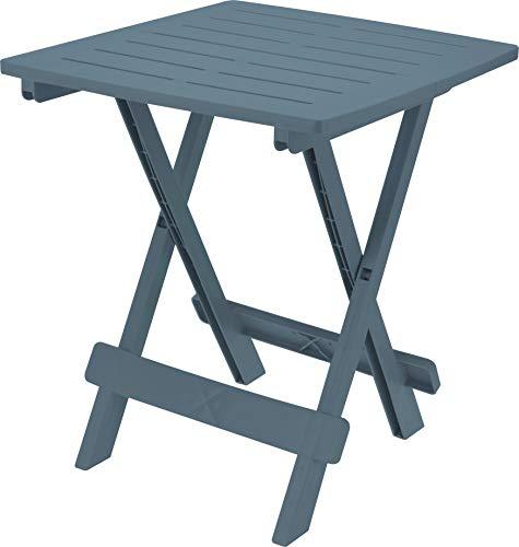 Fair-Shopping Campingtisch Gartentisch Klapptisch Falttisch Beistelltisch klappbar 45x50cm 4 Farben (Blau)