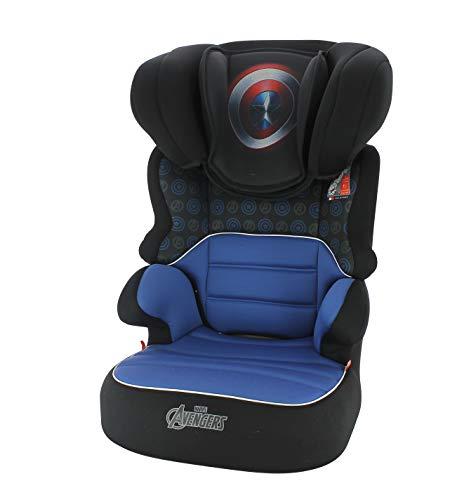 Adac Captain America Kindersitz, Gruppe 2/3, mit seitlichem Schutz, Made In France, 4 Sterne ADAC - Captain America