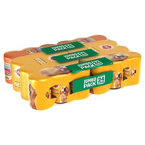 Pedigree Dog Tins Meat Jumbo Pack Jelly 24 x 385g