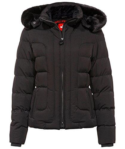 Wellensteyn Damen Belvedere Short Jacke, Schwarz (Schwarz Sw), Medium