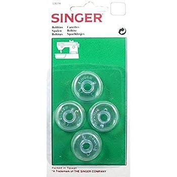 Canillas - Maquinas de coser Singer bajas: Amazon.es: Hogar