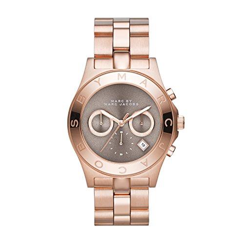 Marc Jacobs MBM3308 - Reloj de Pulsera para Mujer (cronógrafo, Cuarzo, Acero Inoxidable)