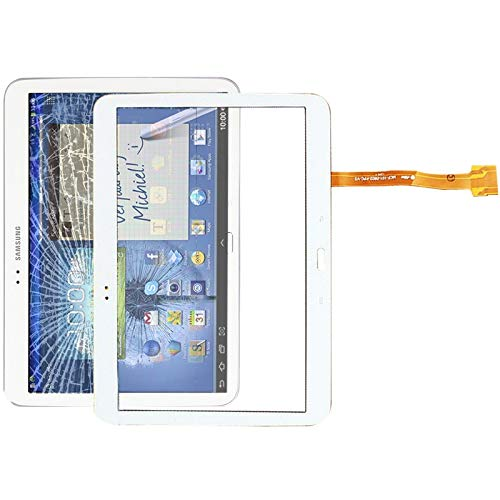 YUNSHUIVICC Touch Panel Digitizer for Galaxy Tab 3 10.1 P5200 / P5210 (White) (Color : White)
