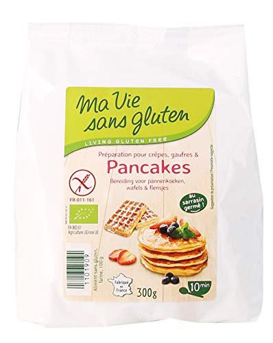 Ma Vie Sans gluten Préparation pour Crêpes, Gaufres/Pancakes 300g - BIO