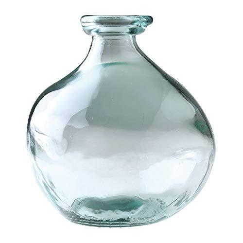SPICE OF LIFE(スパイス) 花瓶 リサイクルガラス フラワーベース DIECIOCHO VALENCIA 16×18×16cm スペインガラス VGGN2020