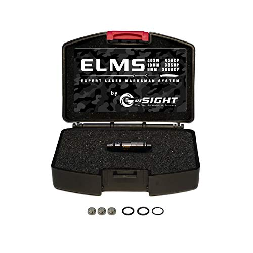 G-Sight ELMS Cartridge Dry Fire Laser Training System | Free iPhone/Android App | Best in Class Accuracy & Compatibility Seen in Guns & Ammo, Recoil, Firearms News (.380ACP)