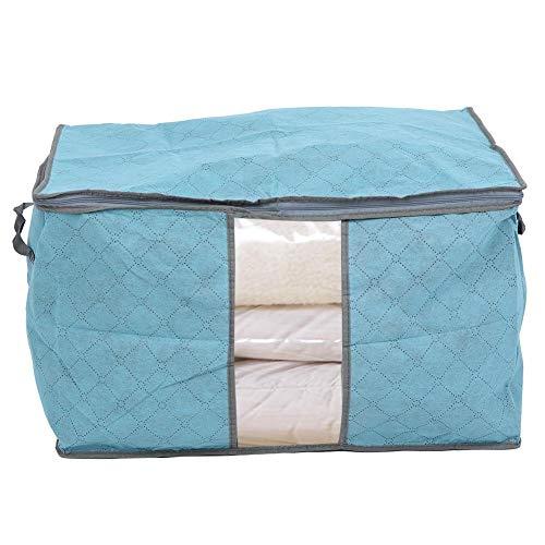 Fdit Opvouwbare grote opbergtas deken kleding opbergtas closet organization douche wasgoed met ritssluiting container met handgrepen MEERWEG AANBIEDING