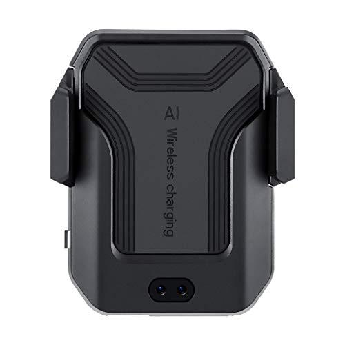 Eliky Automatische infrarood Qi draadloze oplader houder Air Vent auto standaard snel opladen telefoonhouder voor iPhone Xs/Xs Max/XR/X voor Samsung Galaxy Note 9/S9/S9 + voor Xiaomi mobiele telefoons