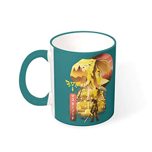 Mug Zel-da - Taza humor (cerámica, 330 ml)