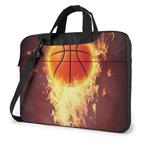 Baloncesto Laptop Bag Messenger Bag Maletín Satchel Hombro Crossbody Sling Bolsa de Trabajo