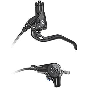 Magura Mt2(Left/Right Can Be Used 2000mm line length Single includes accessories (Pack of 1) Bicycle Brake, 2-Finger Carbotec Ture Brake Lever Black:Labuttanret