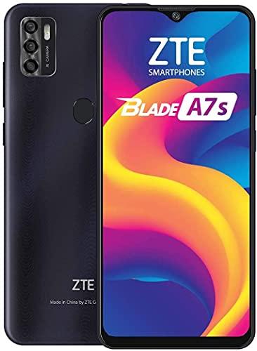 ZTE Blade A7S 64G 4G LTE Smartphone 6.5' HD Negro Desbloqueado