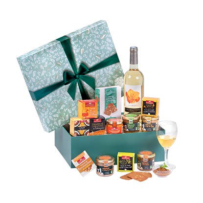 """Ducs de Gascogne - Coffret gourmand sucré salé """"Réserve de saveurs"""" - Comprend 13 produits - Spécial cadeau de Noël - 944834"""