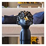 HTDZDX Artesanía Mariposa Decoración Infantil Hogar Suave Decoraciones Vinoteca Moderno Y Simple Modelo De Sala De Estar Casa Creativa Artesanía Pequeña Decoración Obra De Arte (Color : Black)