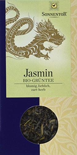 Sonnentor Grüntee Jasmin lose, 1er Pack (1 x 100 g) - Bio