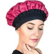 Premium Deep Conditioning Heat Cap - Hydrate, Moisturize and condition with a Microwavable Steam Heated Hat. Recommended for Regular Deep Conditioners and as a Treatment for Damaged hair (Magic Gel)